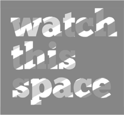 Watch this Space (grey) logo image